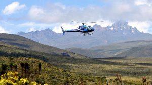 Mount Kenya Elicopter Safari