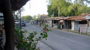 Main road Watamu-Kenya