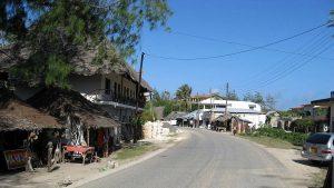 The road, Watamu
