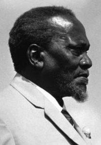 Jomo Kenyatta primo presidente del Kenya
