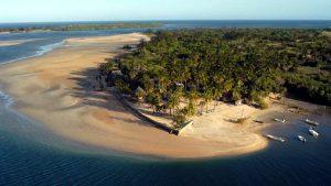 Vista isola di Manda-Vacanze Kenya