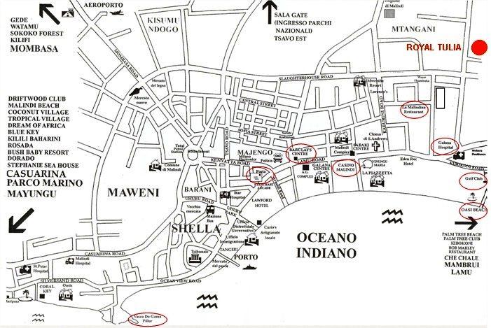 Mappa Malindi